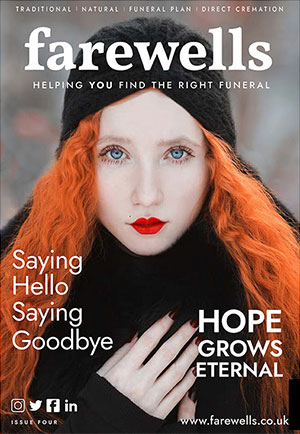 Farewells Magazine featuring Save Funeral Costs article